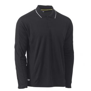 BISLEY BK6425 COOL MESH POLO WITH REFLECTIVE PIPING