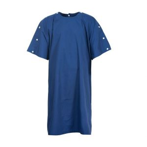 Medi8 M811255 Bariatric Gown with Neck and Shoulder Studs