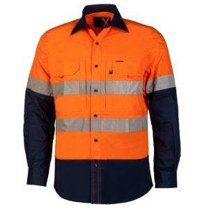 RITEMATE RMX003R RMX Flex Fit Hi Vis Utility Shirt