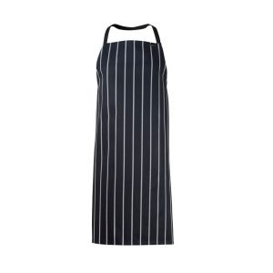 Chefscraft CA005 Full Bib Cafe Stripe Apron