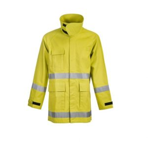 Flamebuster FWPJ105 Ranger Wildlife Fire- Fighting Jacket FR Reflective Tape