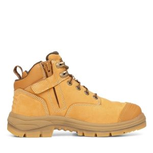 OLIVER 55-330Z 130MM WHEAT ZIP SIDED HIKER SAFETY BOOT