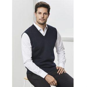 Biz Collection WV6007 Mens Woolmix Vest