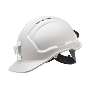 FORCE360 HPFPR57PLV Miners Hard Hat Poly Lamp Vented