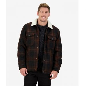 Swanndri SW204044M Men's Kaituna Sherpa Lined Jacket