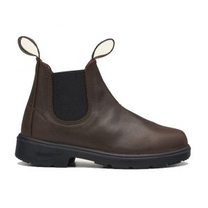 BLUNDSTONE 1468 KIDS' SERIES CHELSEA BOOTS - ANTIQUE BROWN