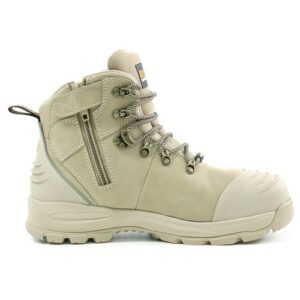 BISON XT ANKLE LACE UP BOOT WITH ZIP STONE
