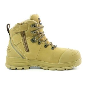 BISON XT ANKLE LACE UP BOOT WITH ZIP WHEAT